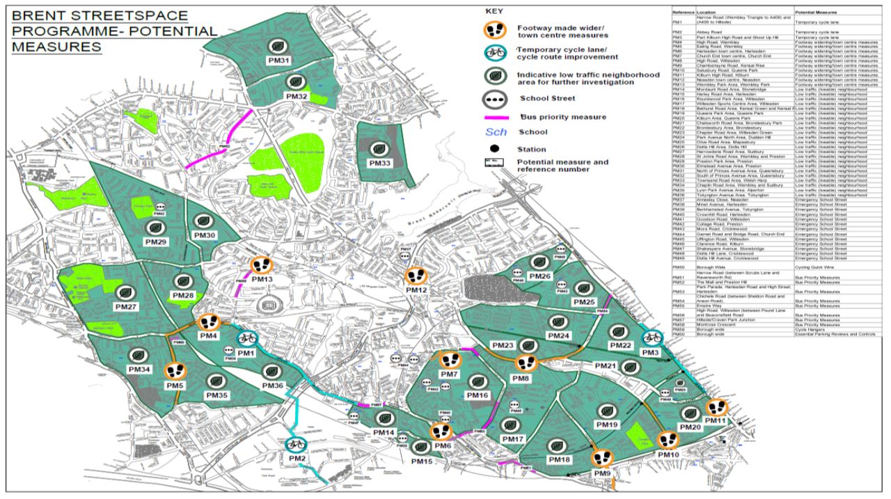 Brent Streetspace Map | London Cycling Campaign