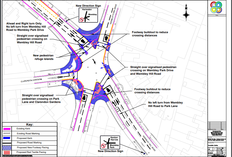 Consultation drawing | Brent Cycling Campaign
