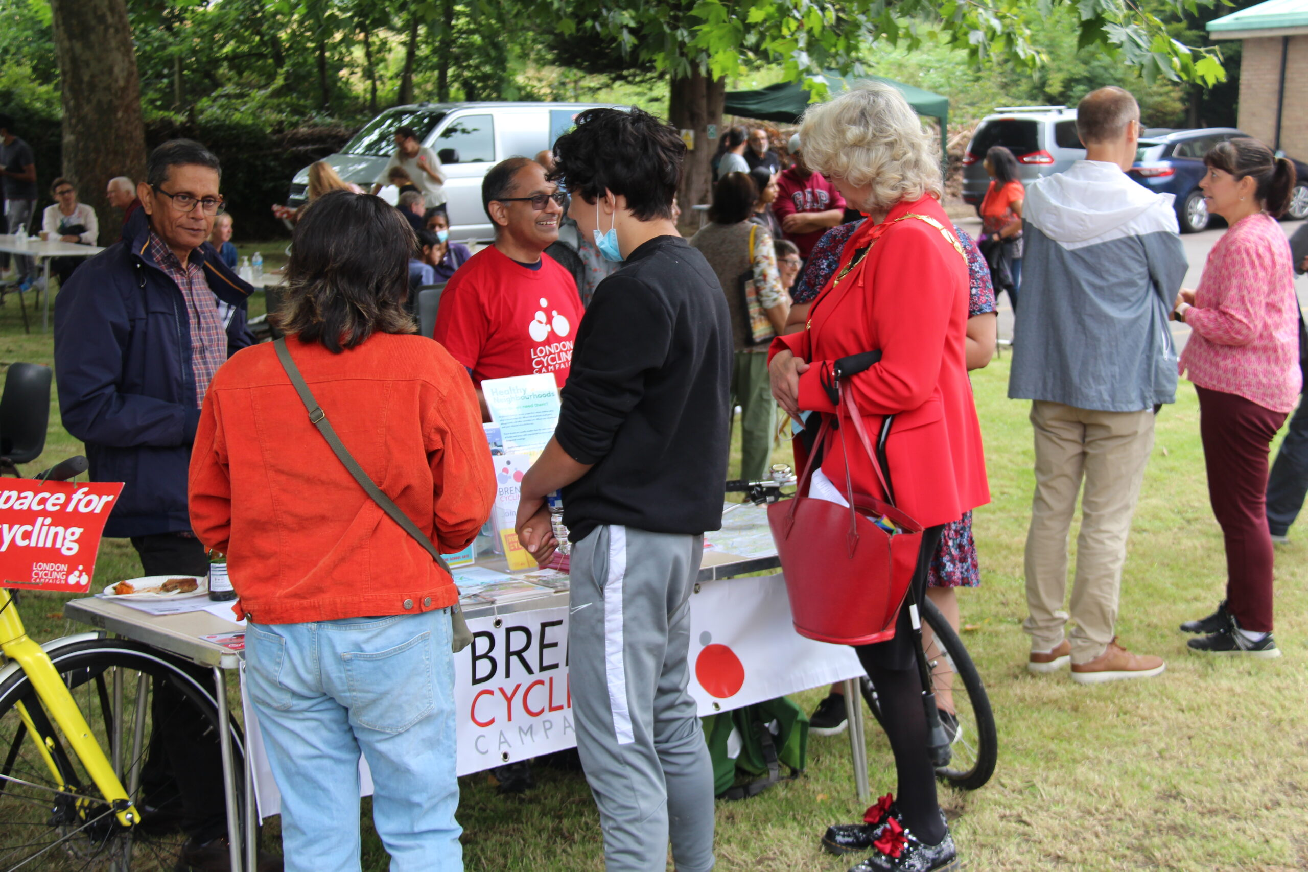 Brent Cycling Campaign Stall | Brent Cycling Campaign